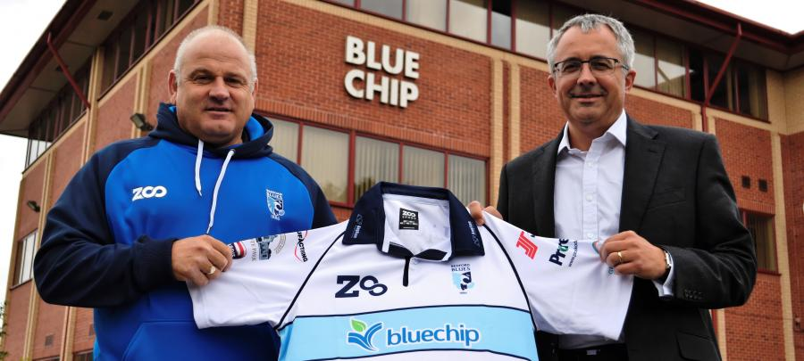 Mike Rayer director of rugby Bedford Blues
