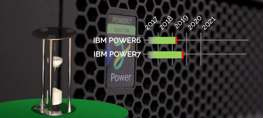 end of life for IBM Power 6 and Power 7
