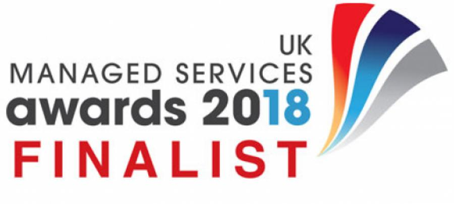 UK managed services award finalist 2018