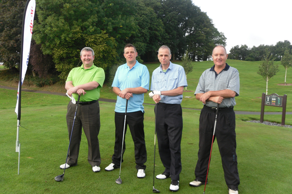 Blue Chip Charity Golf Day for Keech Cottage 2011