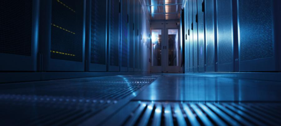 Blue Chip's data centre in Bedford, Bedfordshire