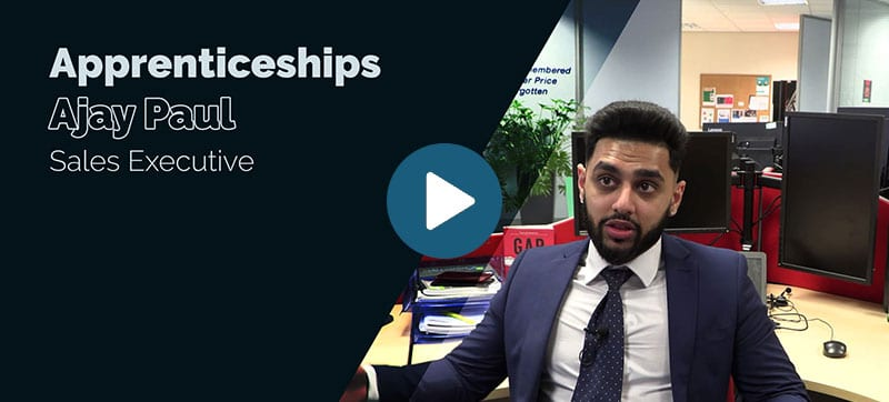 Blue Chip apprenticeship scheme: Ajay Paul