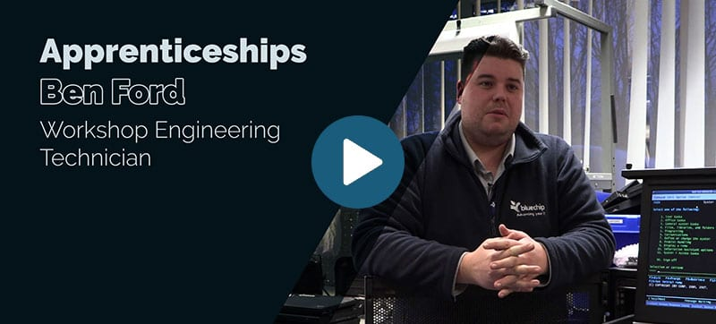 Blue Chip apprenticeship scheme: Ben Ford