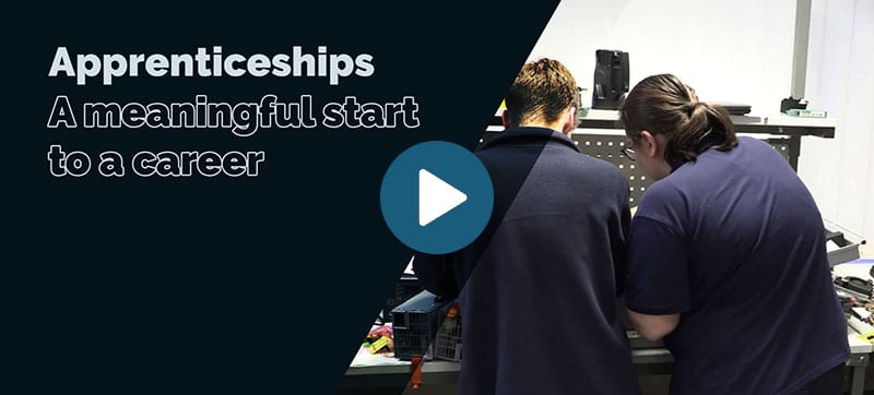 Blue Chip apprenticeship scheme: A meaningful start to a career