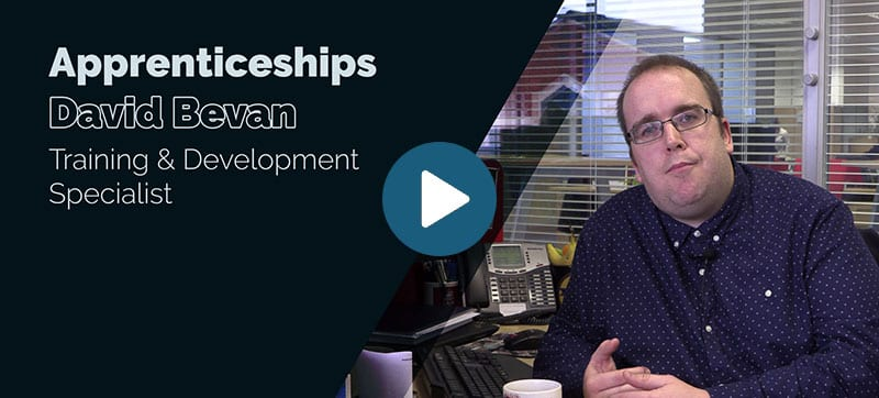 Blue Chip apprenticeship scheme: David Bevan
