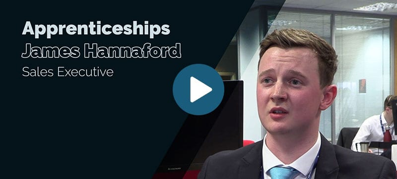 Blue Chip apprenticeship scheme: James Hannaford