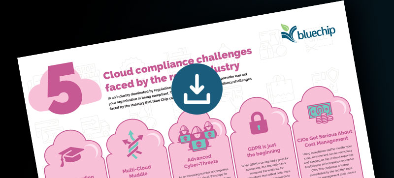 Infographic Five cloud compliance challenges faced by the retail industry