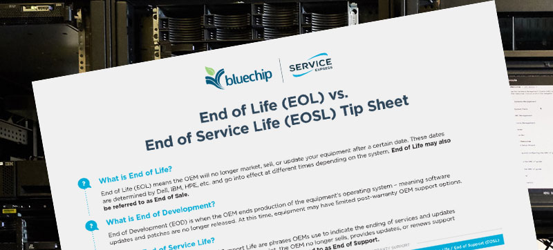 End of service life tipsheet